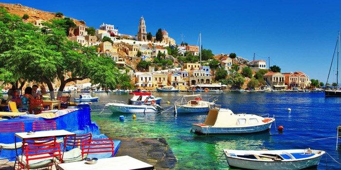 Отдых на пляжах Родоса, Греция