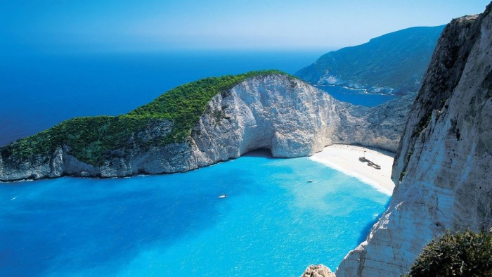 бухта Наваго, пляжный отдых в Закинфе, Греция