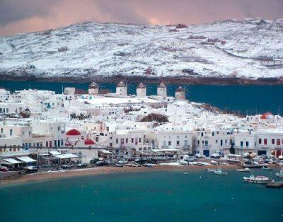 Отдых и погода в Греции в декабре 2019