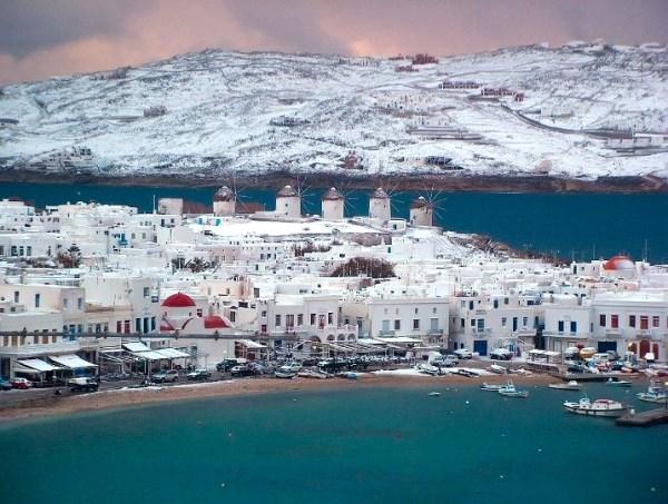 погода и отдых а Греции в декабре