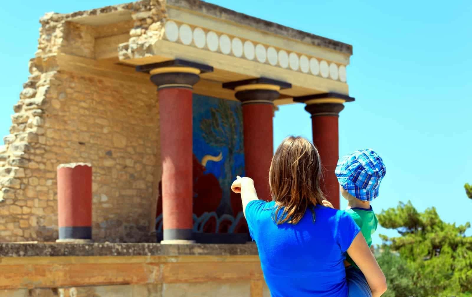 экскурсии на Крит, Кносский Дворец Греция
