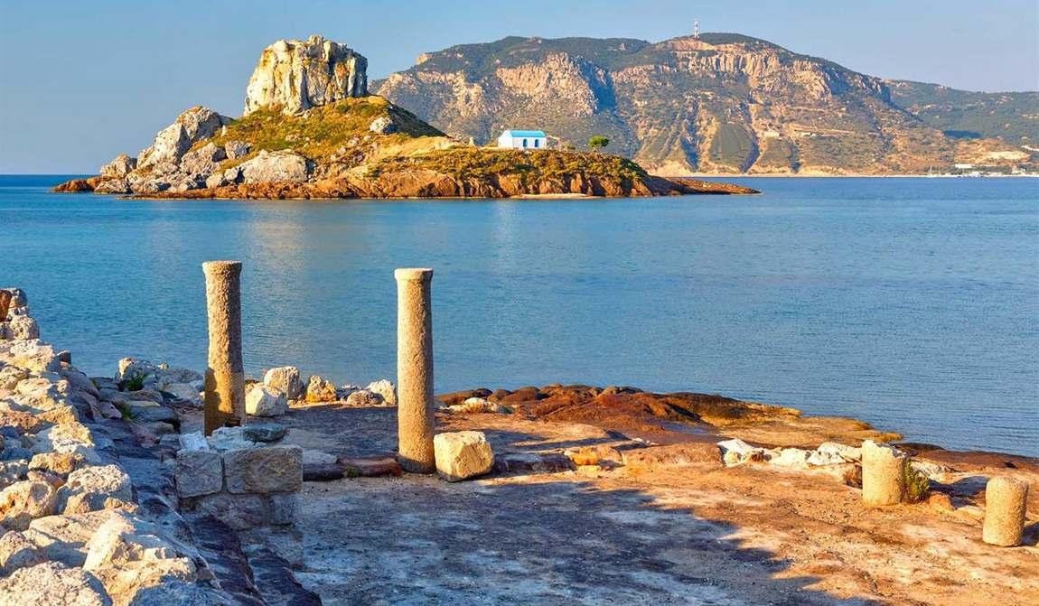 Греция в июне Кос