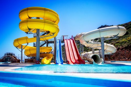 аквапарк, отель Village Resort&Waterpark, херсонисос