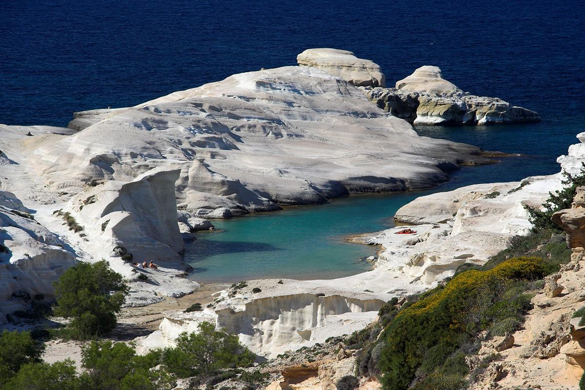 эгейское море остров милос