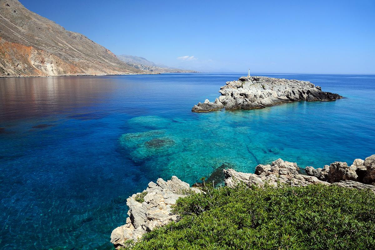 ливийское море юг острова крит