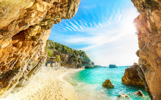 остров Корфу Греция